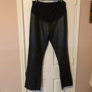 OLD NAVY Maternity Leather Pants